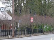 Banners along Boones Ferry Road