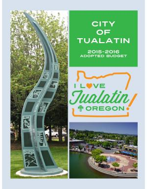 The City of Tualatin Oregon Official Website